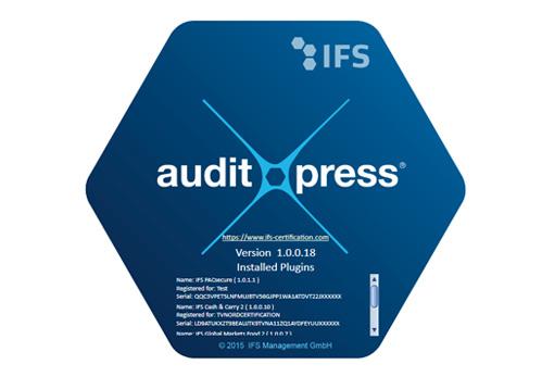 IFS auditXpressX und IFS Audit-Manager App