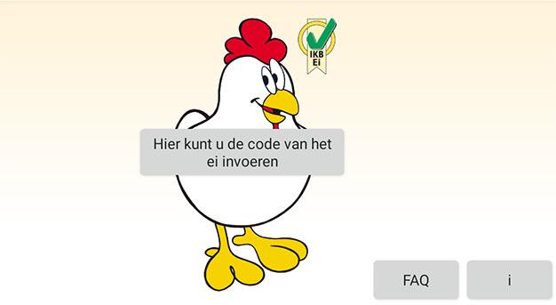 Eiercode App bekommt ein niederländisches zu Hause